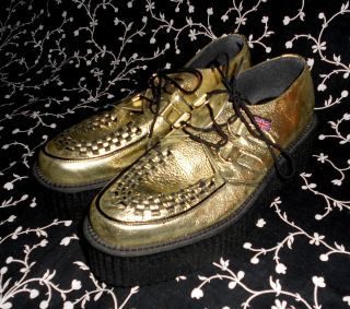 creepers hot topic psychobilly punk goth rockabilly tuk M 7 W 9