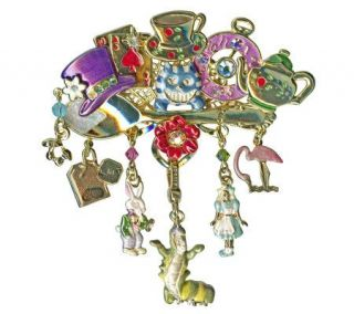 Kirks Folly Tea Party Charm Pin/Enhancer —