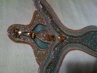 Nancy Corzine Dining Room Chairs Silk Hand Beaded WOW
