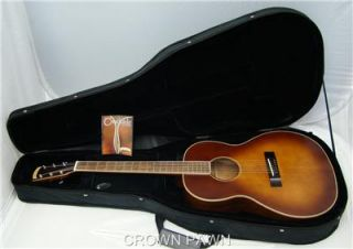 Morgan Monroe Creekside MV 01 NEW Acoustic Guitar in HARD CASE
