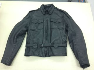 Harley Davidson Leather Jacket by Hein Gericke 40W w Liner