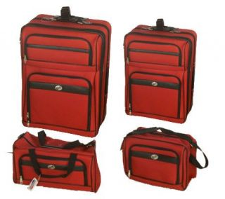 American Tourister 1200D 4 Piece Luggage Set —
