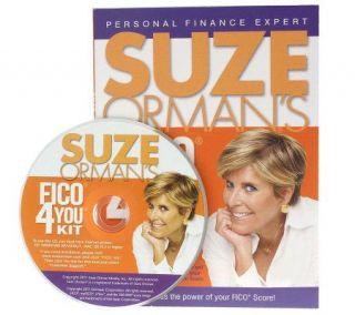 Suze Ormans FICO 4 You Kit 4 FICO Scores & Credit Bureau Reports