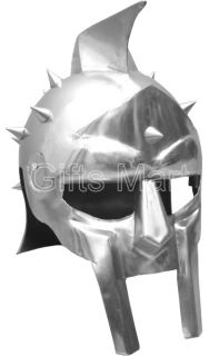 Medieval Roman Gladiator Maximus Helmet Adult Size Fully Wearable