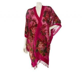 Kirks Folly Victorian Rose Beaded Fairy Robe —