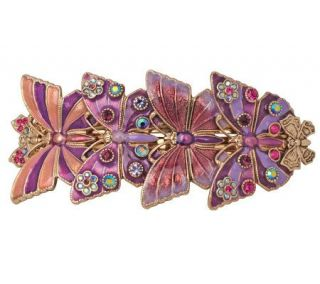 Kirks Folly Butterfly Beauty Barrette   PurplePassion   J301783