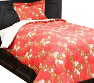 Liz Claiborne New York Mums 230TC FL Comforter Set   H190384