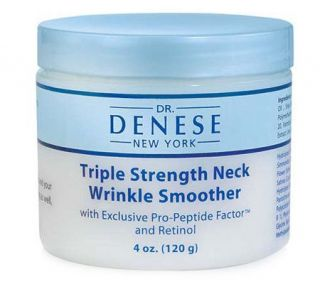 Dr. Denese Triple Strength Neck Wrinkle Smoother, 4 oz. Auto Delivery