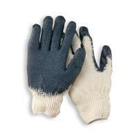 Ladies Rubber Coated Cotton Poly String Knit Glove
