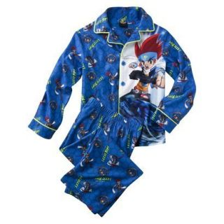NEW BEYBLADE METAL FUSION  LET IT RIP 2 PIECE PAJAMAS SIZE 8 shirt