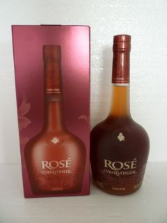 COURVOISIER ROSE COGNAC 750 ML WITH BOX FRANCE REMY MARTIN HENNESSY