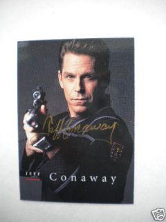 Babylon 5 RARE Vintage Jeff Conway Signed Insert Card