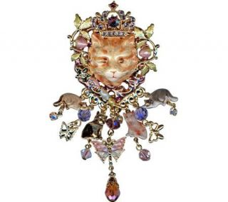 Kirks Folly Royal Ginger Tom Cat Pin/Pendant —