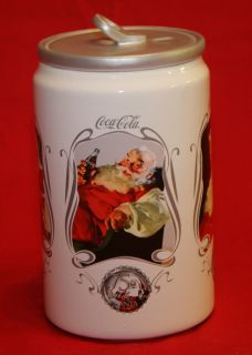 Coca Cola Round Cookie Jar Coke Santa by Houston Harvest Gift Products