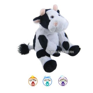 Sootheze Plush Cow Aromatherapy Cuddle Microwavable Hot Cold Lavender