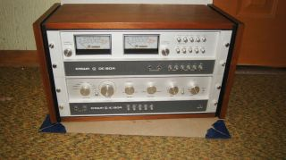VINTAGE CROWN AUDIO OC150A AMPLIFIER & STEREO CONTROL & IC150A PREAMP