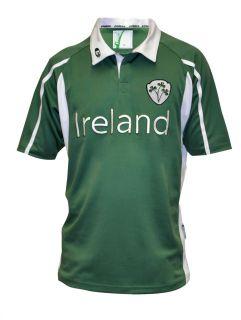 Croker Irish Ireland Mesh Rugby Shirt Jersey Size M L XL 2XL 3XL