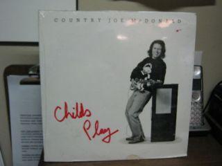 Country Joe McDonald Childs Play LP SEALED Rag Baby