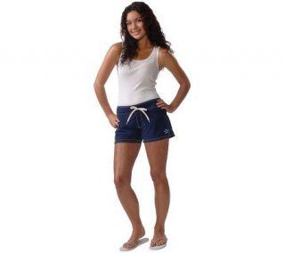 NFL Dallas Cowboys Womens Microfiber Shorts —