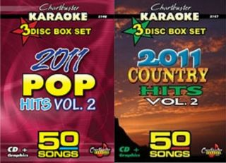 2011 COUNTRY POP HITS v2 KARAOKE CHARTBUSTER CDG 100 AWESOMES SONGS 6