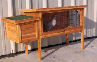 New Solid Wood Chicken Guinea Pig Rabbit Coop Hutch