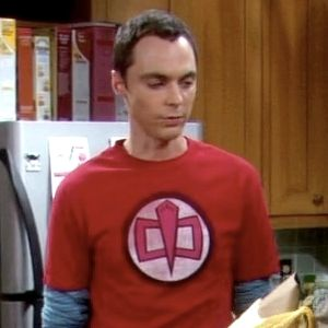 Sheldons Greatest American Hero Big Bang Theory T Shirt New