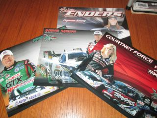 NHRA Team Force 2012 Hero Cards John Courtney Force Mike Neff Erica