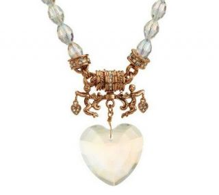 Kirks Folly All Hearts Come Home Magnetic Necklace   J266498