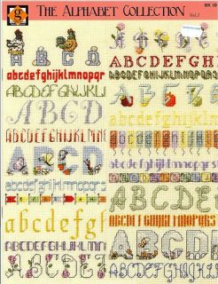 The Alphabet Collection Counted Cross Stitch Pattern