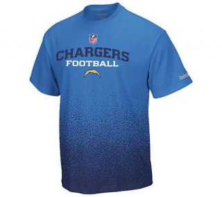 NFL San Diego Chargers Drift Sideline T Shirt —