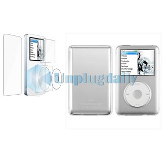 Clear Hard Case Skin Cover Protector for iPod Classic 80GB 120GB 160GB