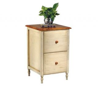 Country Cottage Solid Wood File Cabinet by Office Star —