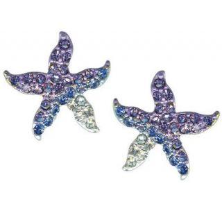 Kirks Folly Choice of Ocean Beach Starfish Pierced Earrings —