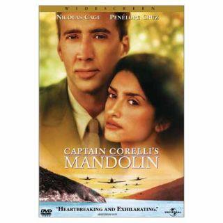 Captain Corellis Mandolin New DVD