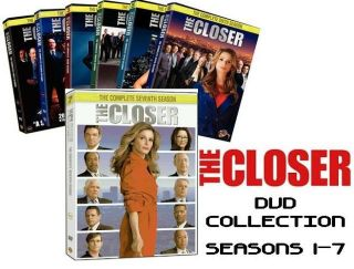 The Closer DVD Set The Complete Seasons 1 2 3 4 5 6 7 New SEALED Free