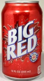 """Taste of Texas"""" Big Red Cream Soda by Dr Pepper 7up Snapple"""