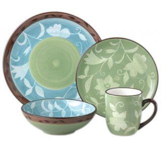 Pfaltzgraff Patio Garden 16 Piece Dinnerware Set   H177498