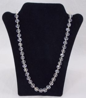 22 inch Swarovski Gold Filled Crystal Necklace