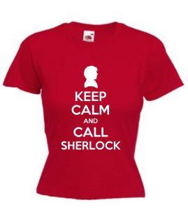 Call Sherlock T Shirt Mens Ladies Great Gift Holmes Cumberbatch