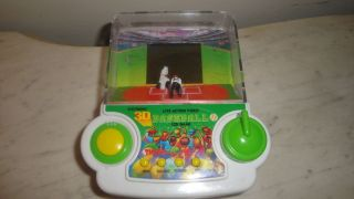 1993 Tiger Electronic 3 D Baseball Handheld Game
