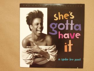Shes Gotta Have It Criterion Collection Laserdisc LD Spike Lee