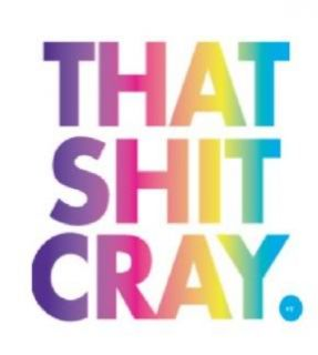 Multicolor That SH T Cray T Shirt SH T Watch The Throne Rap Concert