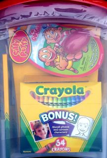 New Crayola Kids Art Craft Supply Set Activity Kit Tub Crayons Markers