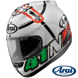 Arai Corsair V Haga Monza White Limited Edition Helmet Large