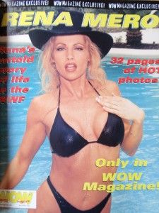 WOW World Female Wrestling Magazine Diva Sable Rena Mero 10 99 Volume