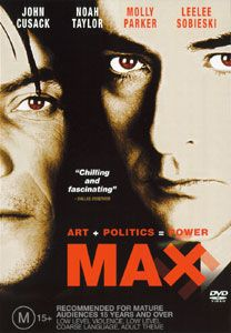 John Cusack Noah Taylor Max Art Politics Power DVD