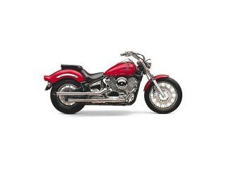98 05 Yamaha XVS650 V Star Custom Cobra Full Exhaust Classic Slash Cut