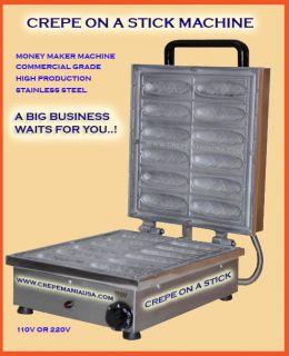 crepe on a stick machine