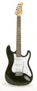 Crestwood ST920 Double Cutaway Electric Guitar Black