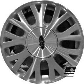 Refinished Ford Crown Victoria 2003 2005 16 inch Wheel